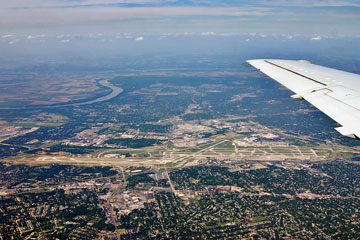 Lambert International airport, St Louis, Missouri